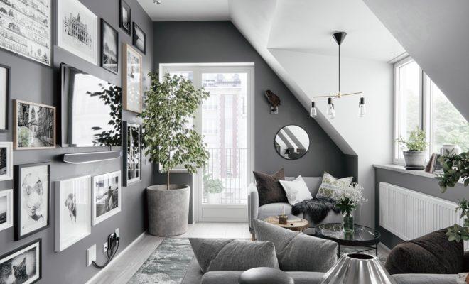 Gri ev dekorasyonu - Mobilya Kenti