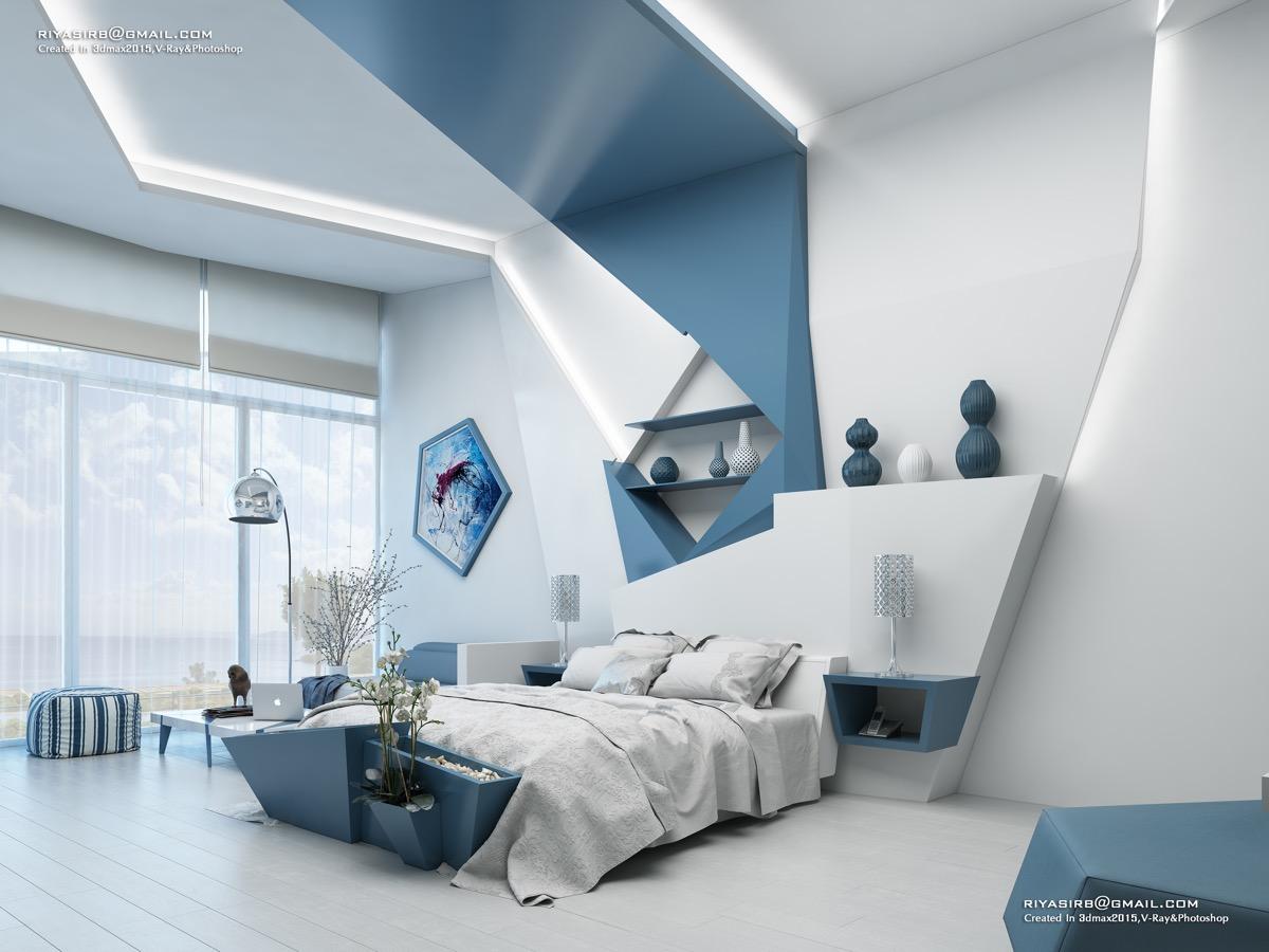 Yaratıcı Yatak Odası Tasarımları